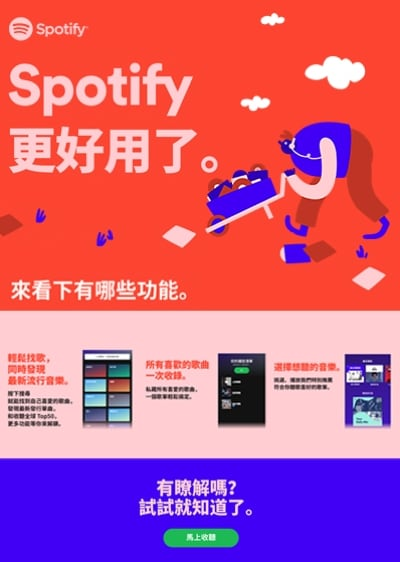 Spotify Digital Campaign